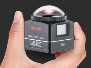 Kodak Pixpro SP360 4K Action Camera Launched at CES 2016