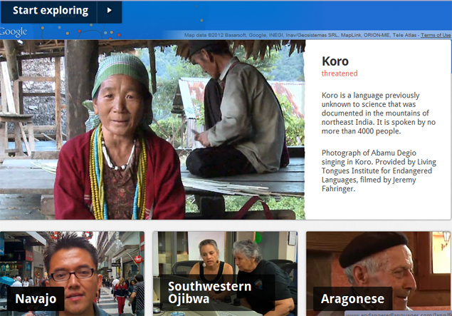Google's project to preserve endangered Indian, world languages