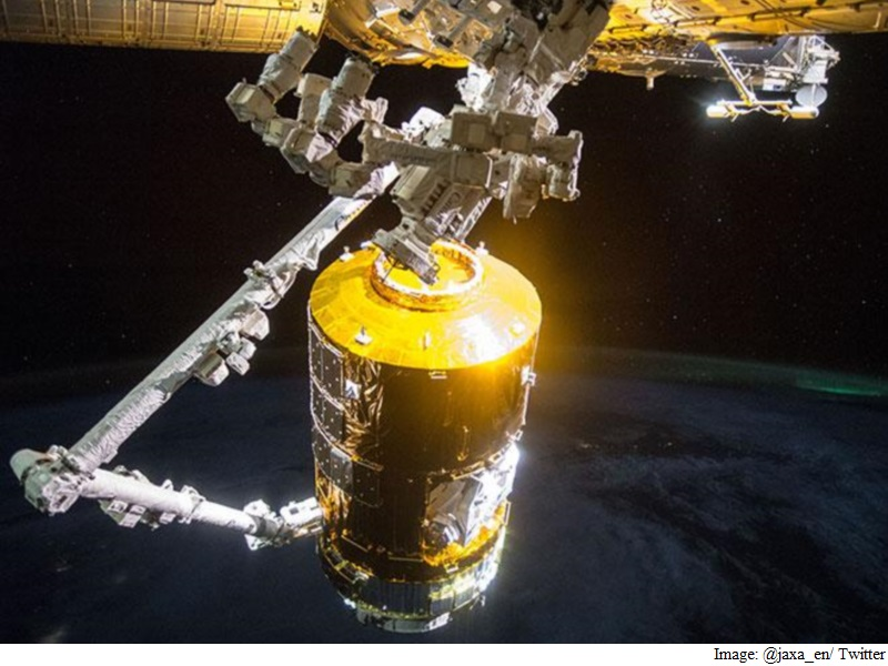 Japanese 'White Stork' Cargo Craft Leaves ISS