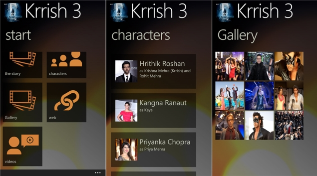 Krrish 3 game announced for Windows smartphones, tablets and PCs