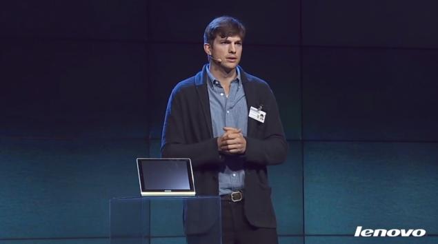 Lenovo ropes in Ashton Kutcher to promote Yoga Android tablets