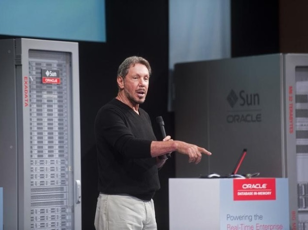 Oracle's Ellison Steps Aside, Co-CEOs Catz and Hurd Take Over