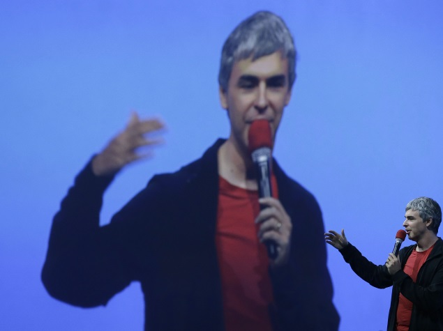 Google CEO Larry Page Named Business Person of 2014 by Fortune