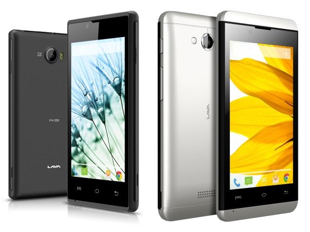 Lava Launches 5 Budget Smartphones in Iris Range, Starting Rs. 4,000