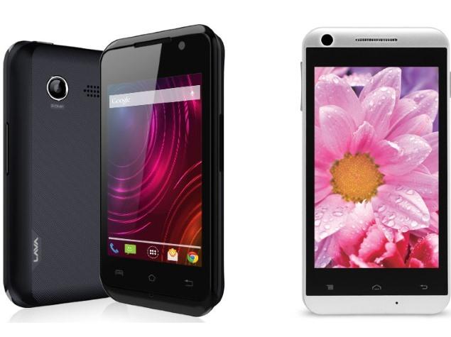 Lava Iris 349i, Iris 404e Dual-SIM Android Smartphones Launched in India