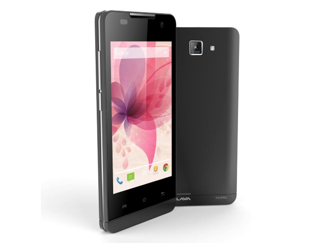 Lava Iris 400Q With Android 4.4 KitKat Available Online at Rs. 5,499