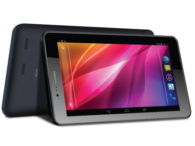 Lava IvoryS dual-SIM Android tablet with voice calling launched at Rs. 8,499