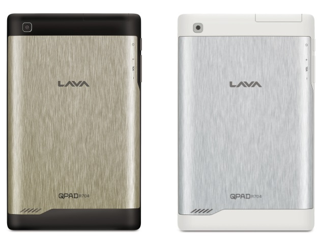 Lava QPAD R704 Voice-Calling Android Tablet Launched at Rs. 8,499
