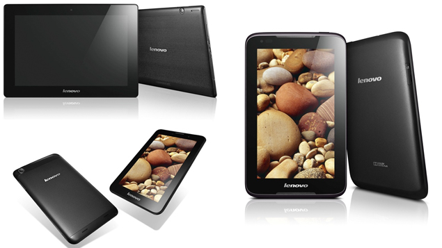 Lenovo unveils A1000, A3000 and S6000 Android Jelly Bean tablets at MWC