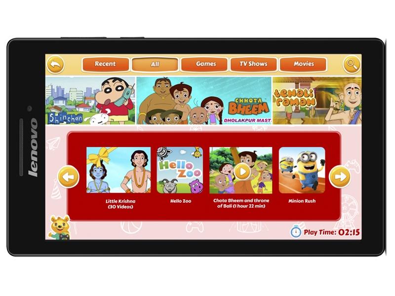 Lenovo CG Slate Tablet Launched for Kids