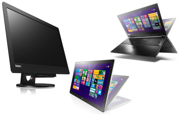 Lenovo Unveils New Laptops, All-in-One and Tabletop PCs at IFA 2014