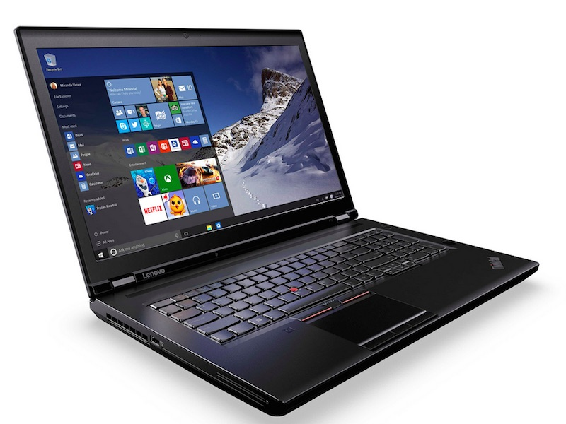 Lenovo's New ThinkPad Laptops Feature First Mobile Intel Xeon Processors