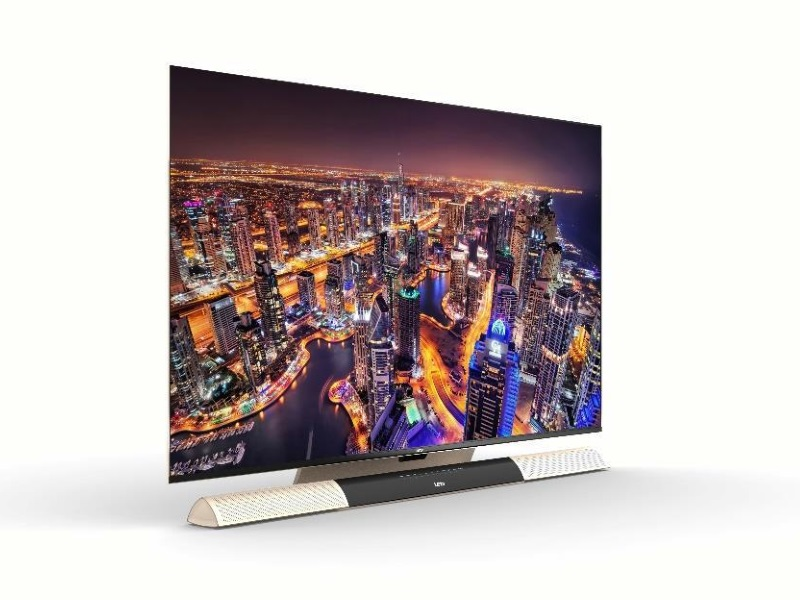 Letv Launches 'World's Thinnest 65-Inch TV' at CES 2016