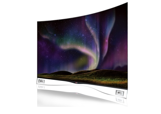LG 55EA9800 55-inch curved OLED television launched in India at Rs. 9,99,000