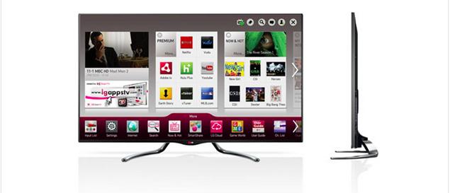 LG announces new Google TV models set to debut at CES 2013