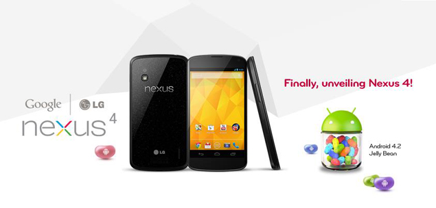 LG Nexus 4's reported €599 price tag outside Google Play draws criticism