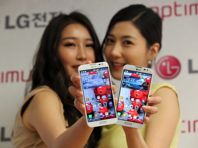 LG aims to sell 40 million smartphones in 2013