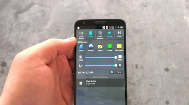 LG Optimus G2 spotted in video ahead of launch