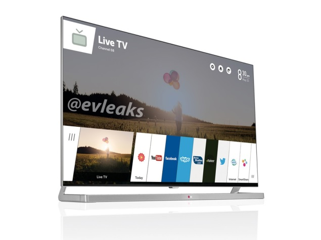 LG webOS TV leaked in image ahead of CES 2014 unveiling