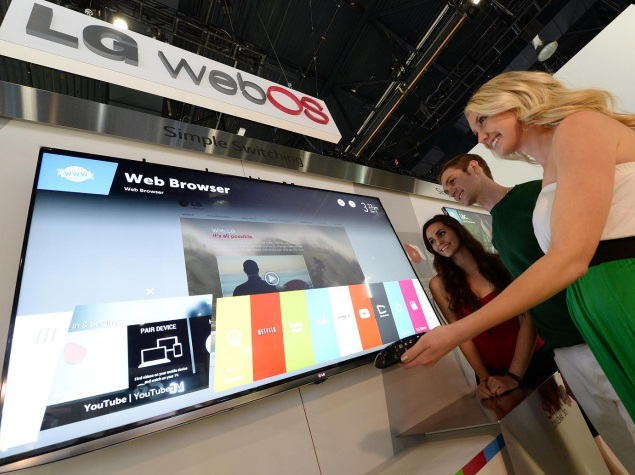 LG reveals webOS-based Smart TV plans ahead of CES 2014