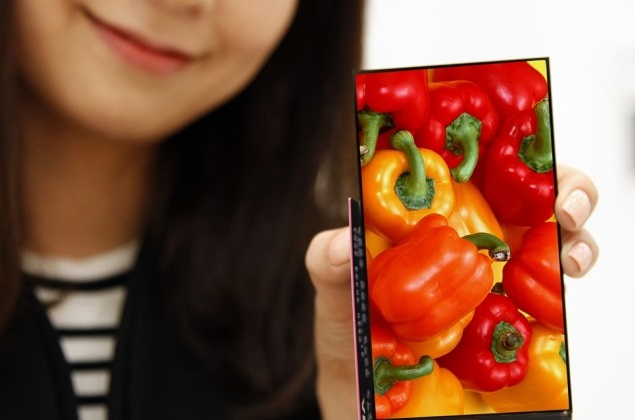 LG Unveils 5.3-Inch Smartphone Display With 'World's Narrowest Bezel'