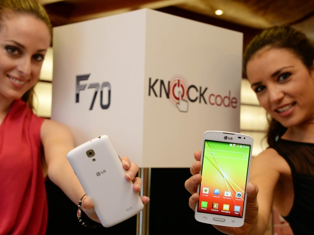 LG F70 with Android 4.4 KitKat, LTE support unveiled at MWC 2014