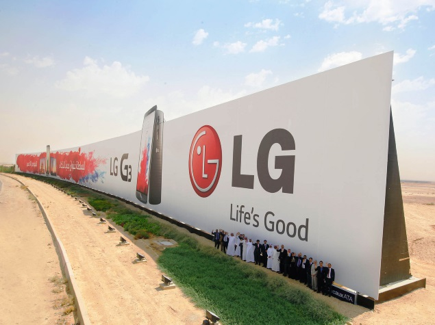 LG Reveals Dual-Edge P-OLED Display Smartphone at CES 2015: Report