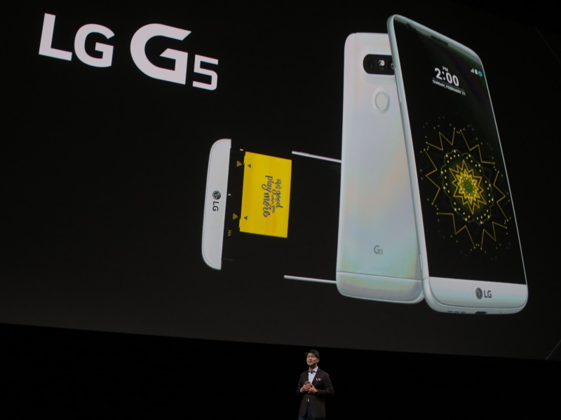 LG G5 in Pictures
