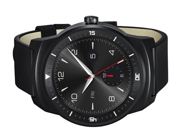 LG G Watch R: LG Shows Circular Smartwatch