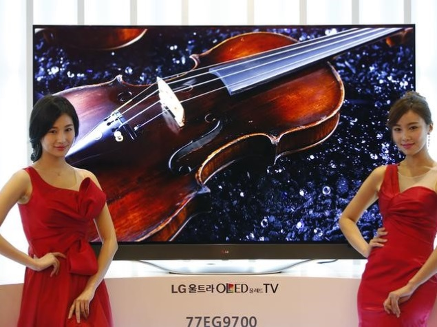 LG Display Presses on With OLED TV Despite Doubts