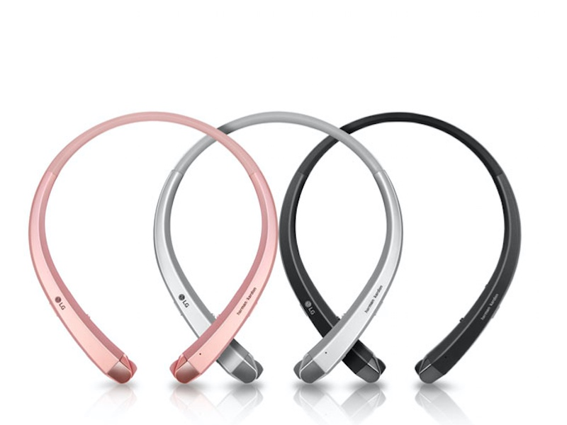 LG Tone+ Bluetooth Stereo Headset to Launch at CES 2016