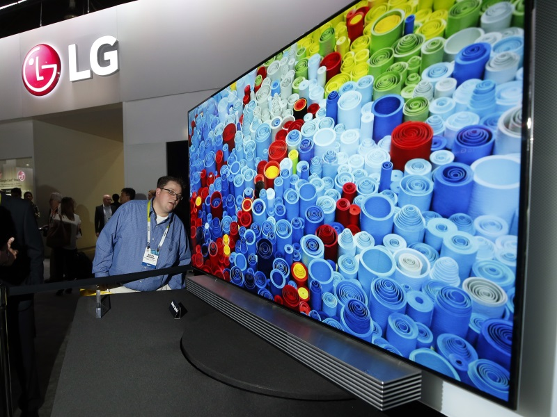 LG Says Q1 Operating Profit Likely to Rise on Falling TV Panel Prices