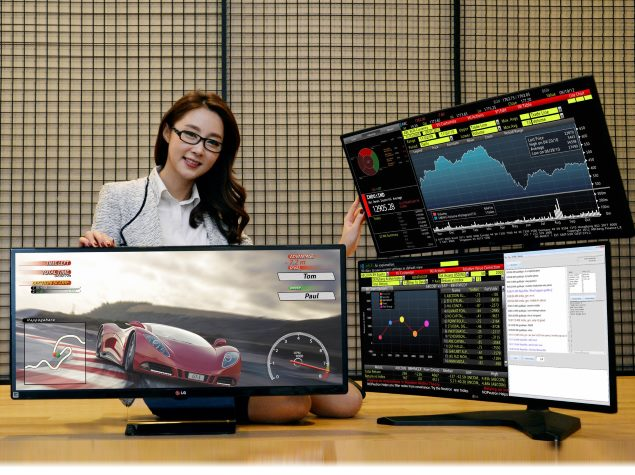 lg to unveil new 21 9 ultrawide gaming monitors at ces 2015 technology news. Black Bedroom Furniture Sets. Home Design Ideas
