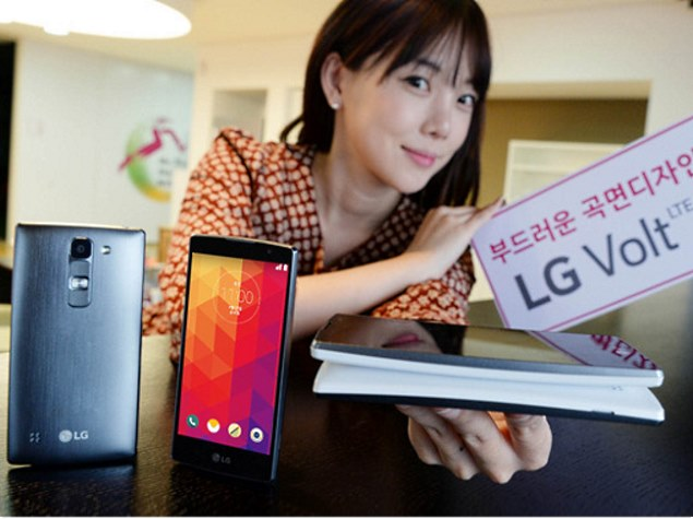 LG Volt With 4.7-Inch Curved Display and Android 5.0 Lollipop Launched