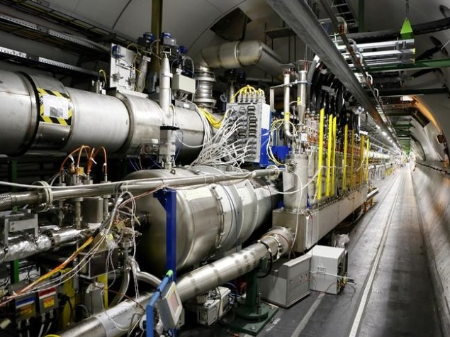 Cern Restarts Large Hadron Collider, Seeks Dark Universe