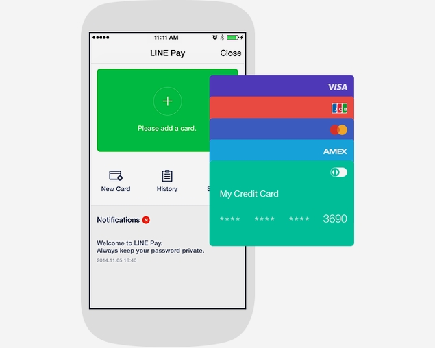 Line Pay Mobile Payment Service Launched Alongside Updated v4.8 App