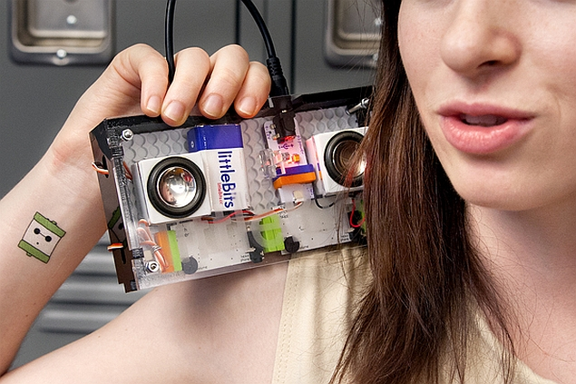 Inventor makes electrical engineering fun, with littleBits