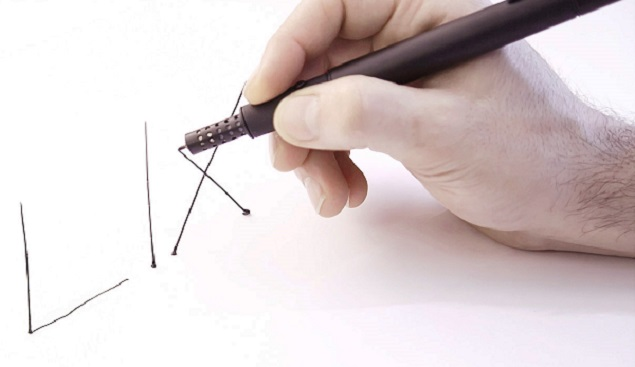 Lix 3D printing pen lets you draw in thin air