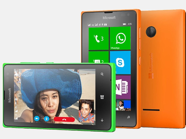 Microsoft Lumia 435 Dual SIM With 4-Inch Display Launched at Rs. 5,999