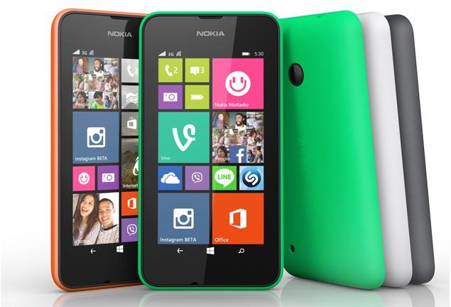 Lumia 530, Lumia 530 Dual SIM Budget Windows Phone 8.1 Handsets Launched