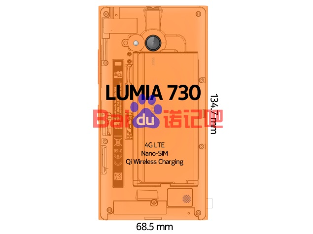 Lumia 730 Tipped to Feature 4G LTE, Nano SIM and Wireless Charging Support