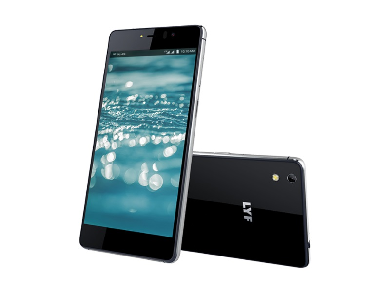 Lyf Water 8 With 3GB of RAM, VoLTE Support Launched at Rs. 10,999