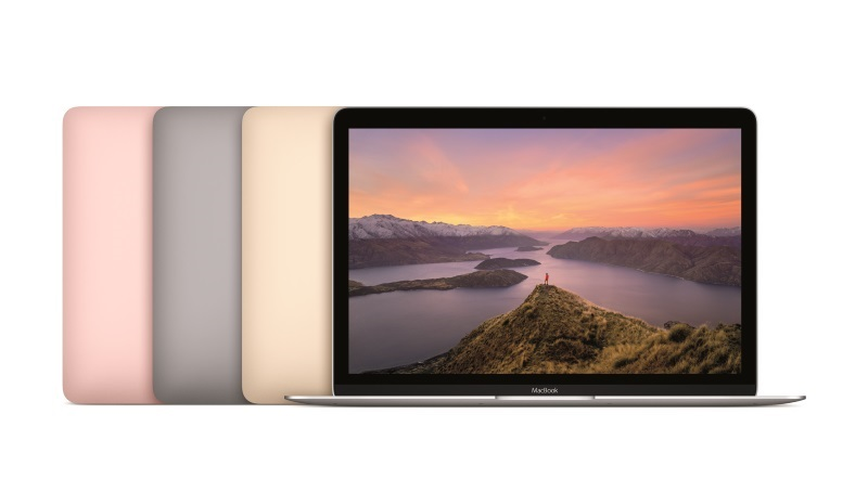 MacBook Gets Skylake CPU, Better Battery Life, Rose Gold Option; 13-Inch Air Now With 8GB RAM Default