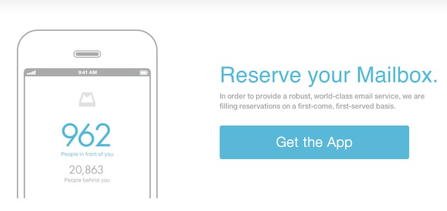 Meet Mailbox, the app with an 800,000 strong waiting list