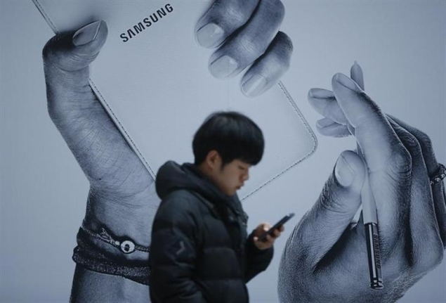 Samsung's aggressive advertising rarely achieves desired effect
