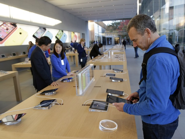 Apple Shares Stumble Ahead of iPhone 6 Launch Event