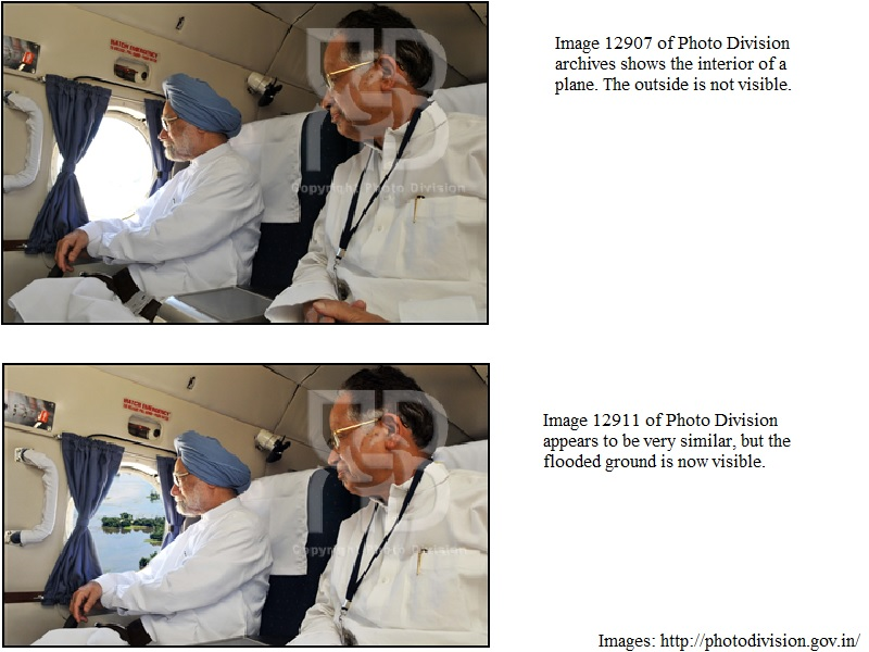 Not Just PM Modi, PIB Had Photoshopped Dr. Manmohan Singh's Image as Well