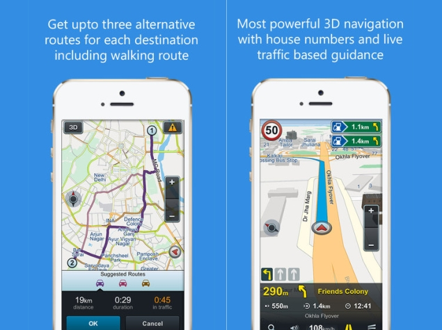 MapmyIndia 'NaviMaps' Navigation App for iOS Now Available for Download