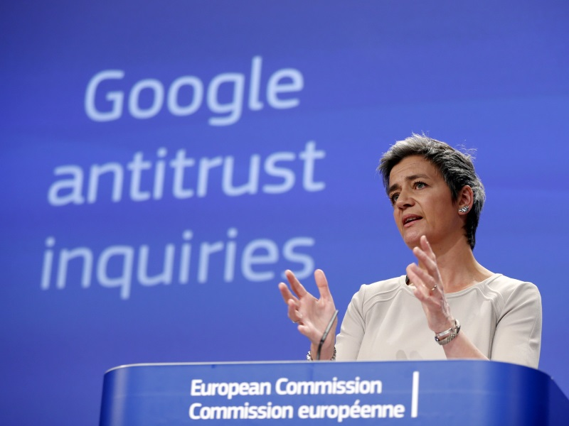 Google Said to Face New EU Antitrust Charges