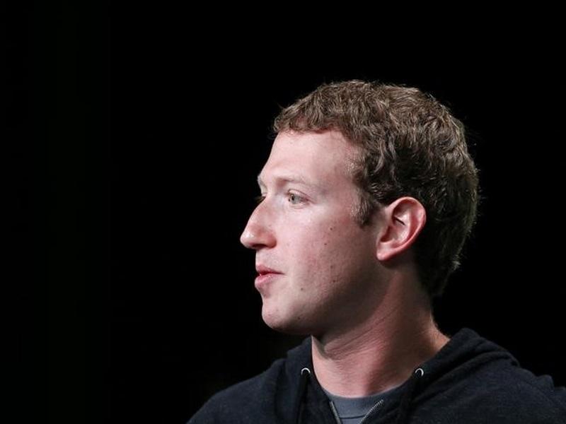 Facebook CEO Mark Zuckerberg's Pinterest And Twitter